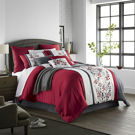 JCPenney Home Aliya 10-pc. Comforter Set, One Size , Multiple Colors