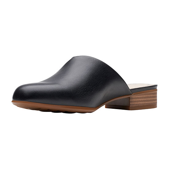Clarks Womens Juliet Willow Closed Toe Mules