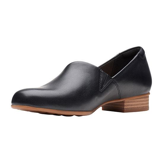 Clarks Womens Juliet Palm Slip-On Shoe Closed Toe