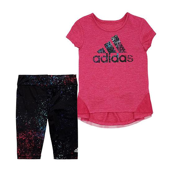 adidas Girls 2-pc. Pant Set Preschool