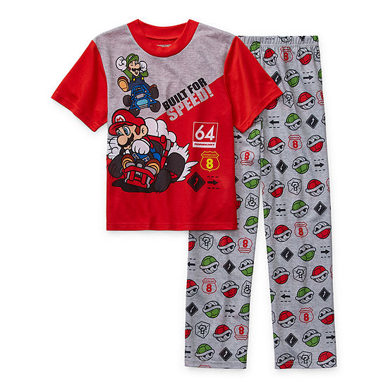 Little & Big Boys 2-pc. Pant Pajama Set