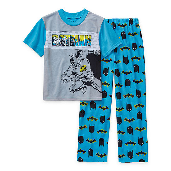 Little Kid / Big Kid Boys 2-pc. Batman Pant Pajama Set