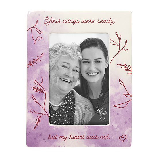 Precious Moments Your Wings Memorial 1-Opening Tabletop Frame