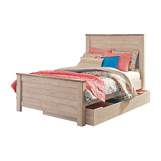 Signature Design by Ashley® Smithfield Bed with Underbed Storage