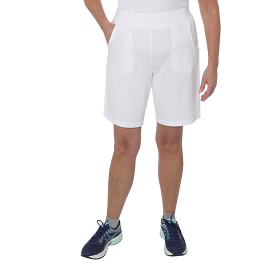 "St. John's Bay Active Womens 9"" Bermuda Short"