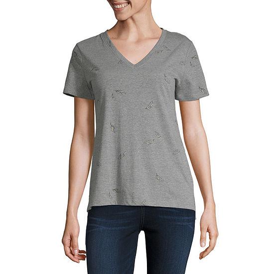a.n.a-Womens Short Sleeve T-Shirt
