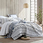 Swift Home Swift Home Exquisite Amis Cotton Tufted Chenille 5-Piece Comforter Set 5-pc. Midweight Down Alternative Comforter Set