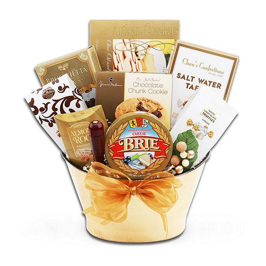 Alder Creek Bon Appetit Gift Basket Food Set