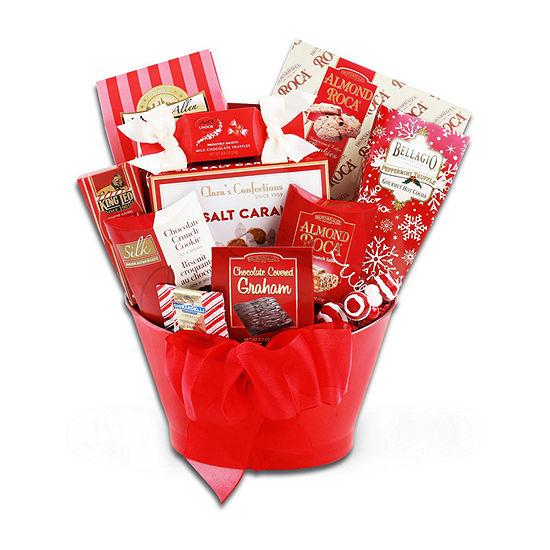 Alder Creek Season's Favorites Gift Basket Food Set