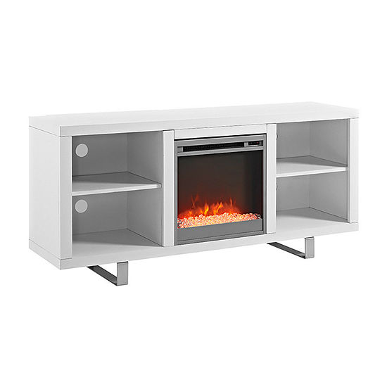 "58"" Simple Modern Electric Fireplace TV Console"