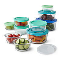 20-Pieces Anchor Hocking Food Storage Set
