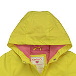Carter's Baby Girls Hooded Lightweight Raincoat