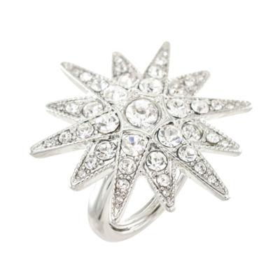 KJL by KENNETH JAY LANE Crystal Starburst Ring