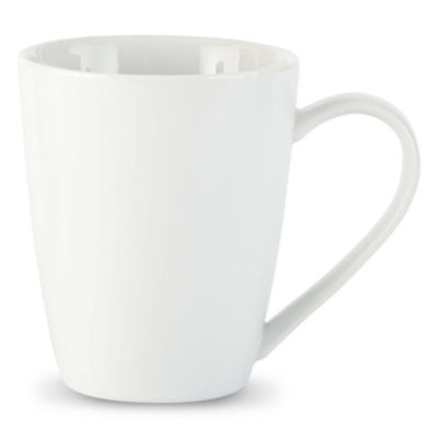 JCPenney Home™ Porcelain Whiteware Set of 4 Mugs
