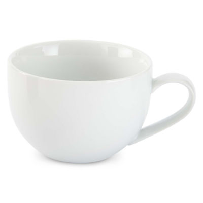 JCPenney Home™ Porcelain Whiteware Set of 4 Latte Mugs