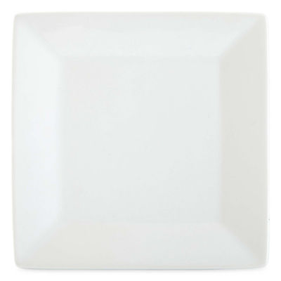JCPenney Home™ Porcelain Whiteware Set of 4 Square Canapé Plates
