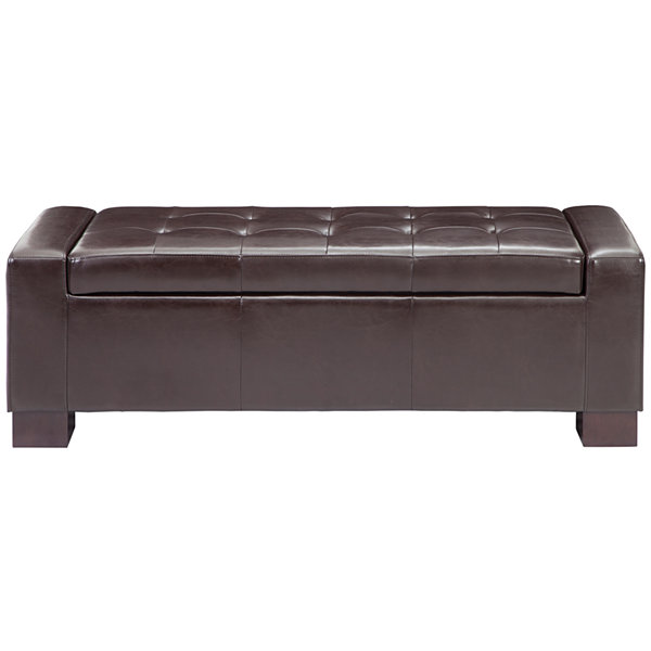 Madison Park Corbin Storage Ottoman
