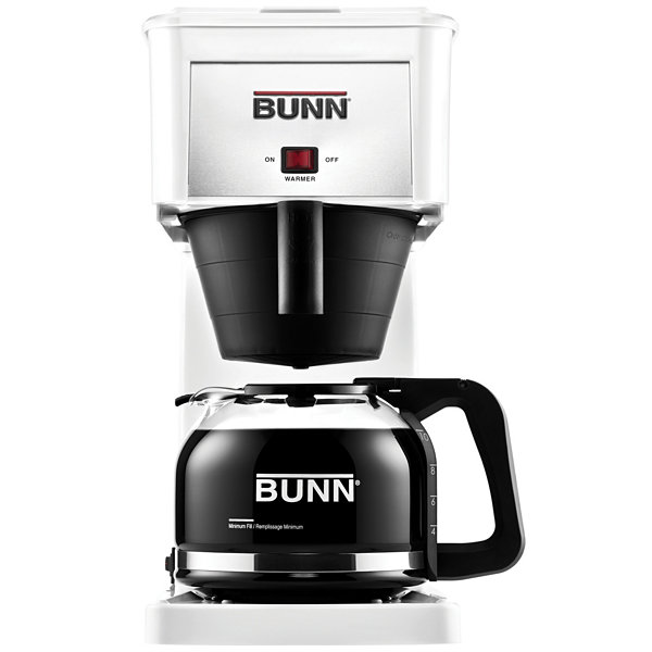 BUNN GR-W Velocity Brew 10-Cup Coffee Brewer