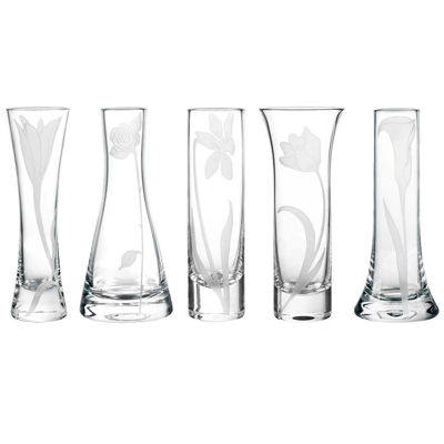 Qualia Bouquet Set of 5 Bud Vases