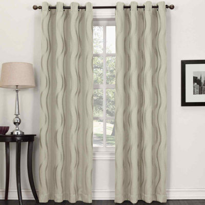 Sun Zero™ Stratton Room-Darkening Grommet-Top Curtain Panel