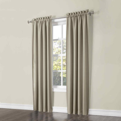 Sun Zero™ Porter 2-Pack Room-Darkening Rod-Pocket Curtain Panels