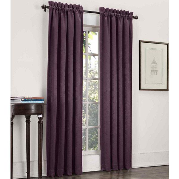 Wonderful Sun Zero™ Cassara Rod Pocket Blackout Curtain Panel