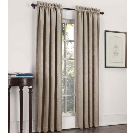 Sun ZeroTM Cassara Rod Pocket Blackout Curtain Panel