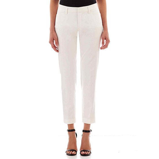 jcp™ Crossover Ankle Pants