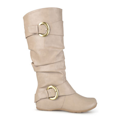 Journee Collection Paris Wide Calf Slouch Riding Boots