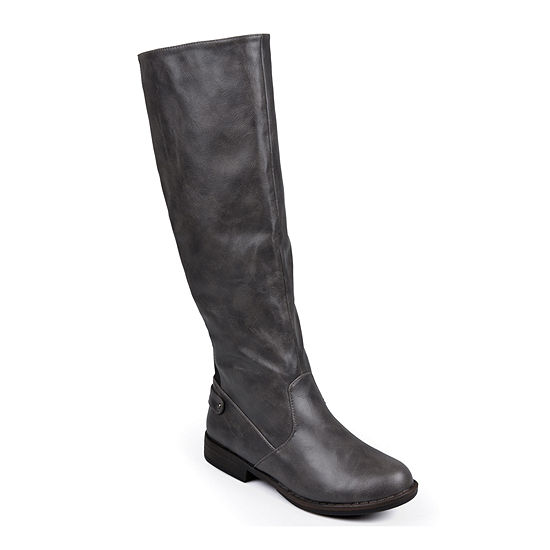 Journee Collection Womens Lynn Wide Calf Riding Boots