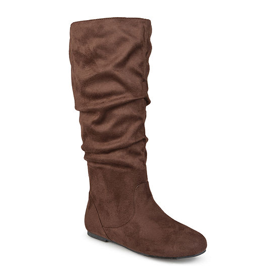 Journee Collection Rebecca Wide Calf Slouch Boots