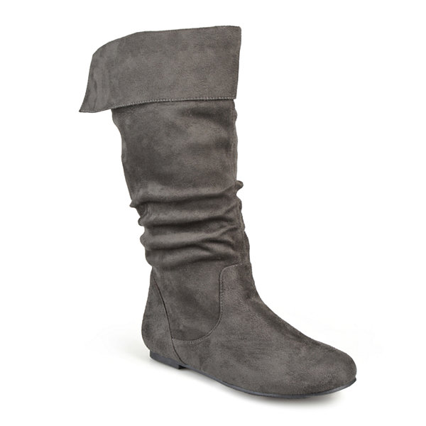 Journee Collection Shelley Wide Calf Boots