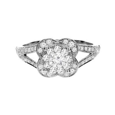 Brilliant Dream™ 5/8 CT. T.W. Diamond 14K White Gold Bridal Ring