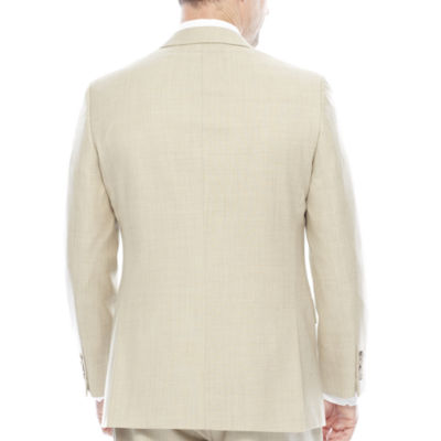 Stafford® Travel Sharkskin Suit Jacket - Classic Fit