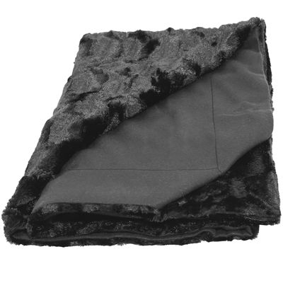 Natico Designer Faux-Fur Throw