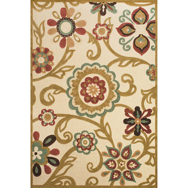 Feizy Rugs® Abbey Indoor/Outdoor Rectangular Rug