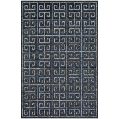 Feizy Rugs® Greek Key Indoor/Outdoor Rectangular Rug