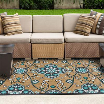 Feizy Rugs® Zahra Indoor/Outdoor Rectangular Rug