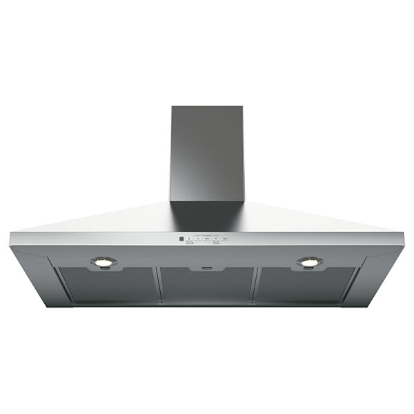 "GE® 36"" Convertible Chimney Range Hood"