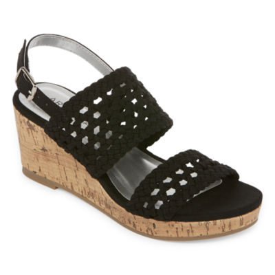 Arizona Portia Girls Wedge Sandals - Little Kids/Big Kids
