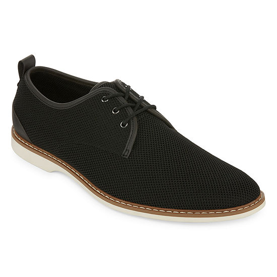 JF J.Ferrar Mens Mckinnley Oxford Shoes Lace-up