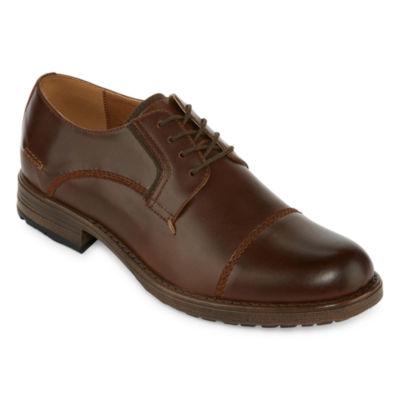 St. John's Bay Mens Jack Oxford Shoes Lace-up