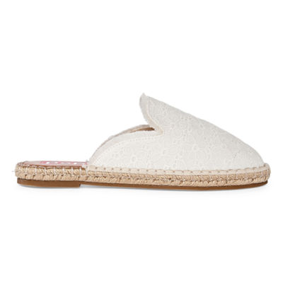 Pop Womens Amber Mules Slip-on Round Toe