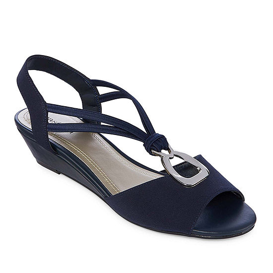 east 5th Womens Reid Wedge Sandals