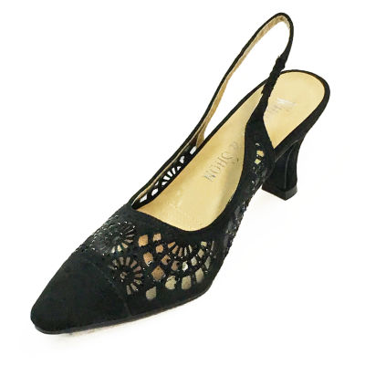 Whittall & Shon Lazer Cut Womens Pumps