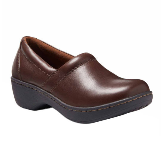 Eastland Womens Constance Slip-On Shoes Pull-on Round Toe