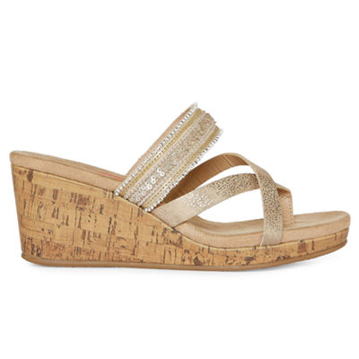 Pop Womens Hana Wedge Sandals