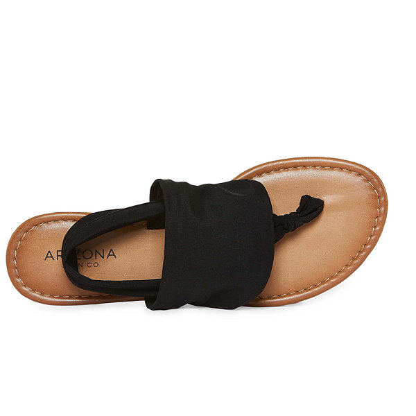 Arizona Abram Womens Flat Sandals