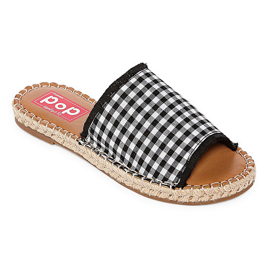 8efd3b9df325 Pop Indo Womens Slide Sandals JCPenney