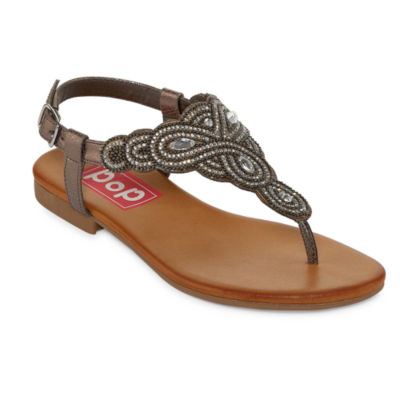 Pop Pronto Womens Gladiator Sandals